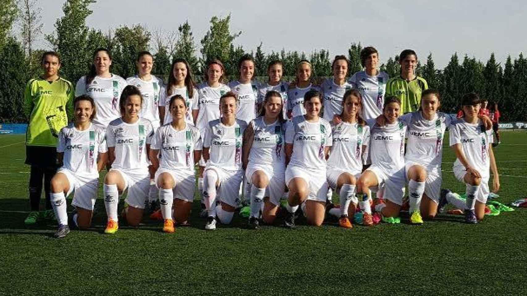 El equipo Juventud Rondilla, temporada 2016-17.