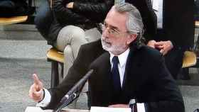 Francisco Correa durante su declaración en el juicio