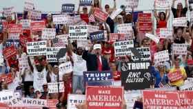 Trump divide a los políticos republicanos.