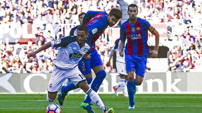 Siga en vivo el Barcelona - Deportivo