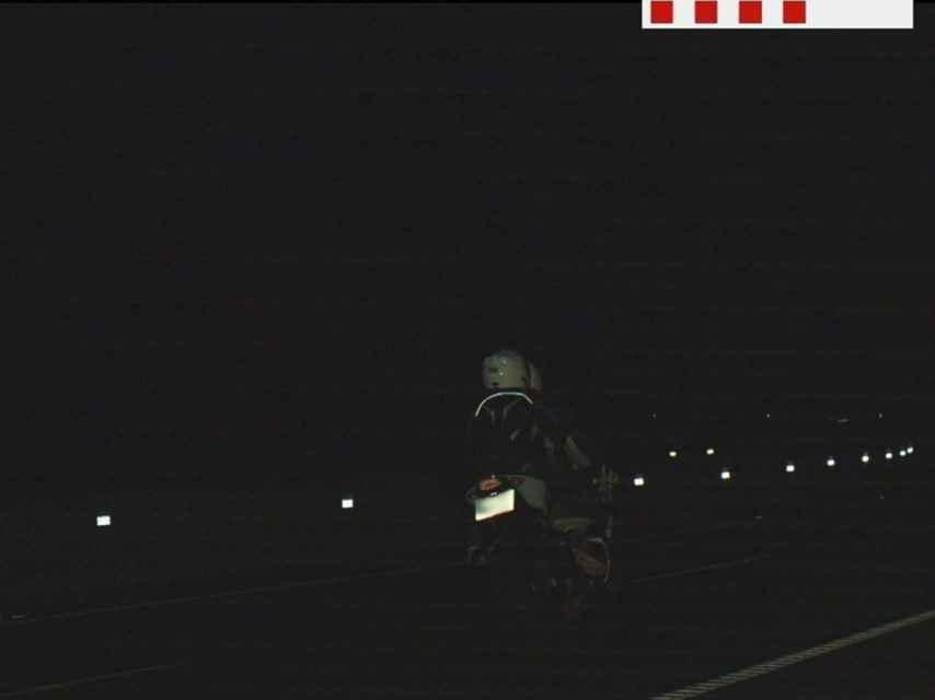 Denunciado un motorista por circular a 179 km/h con su hijo de 12 años como pasajero