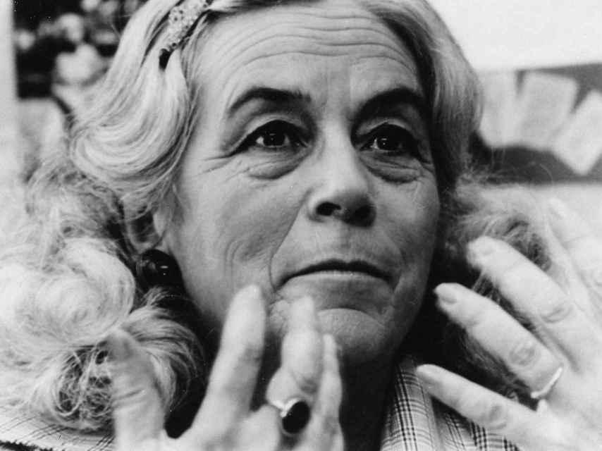 Carmen Martín Gaite, autora de Lo raro es vivir.