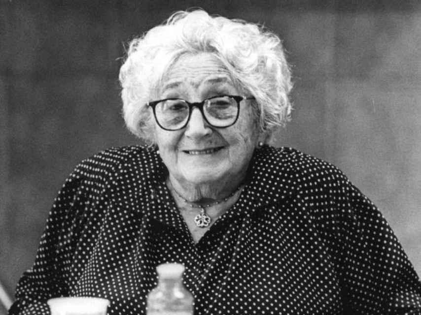 Rosa Chacel, autora de Versos prohibidos (1978).