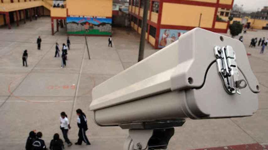 Algunos colegios e institutos españoles ya cuentan con cámaras en su zonas comunes
