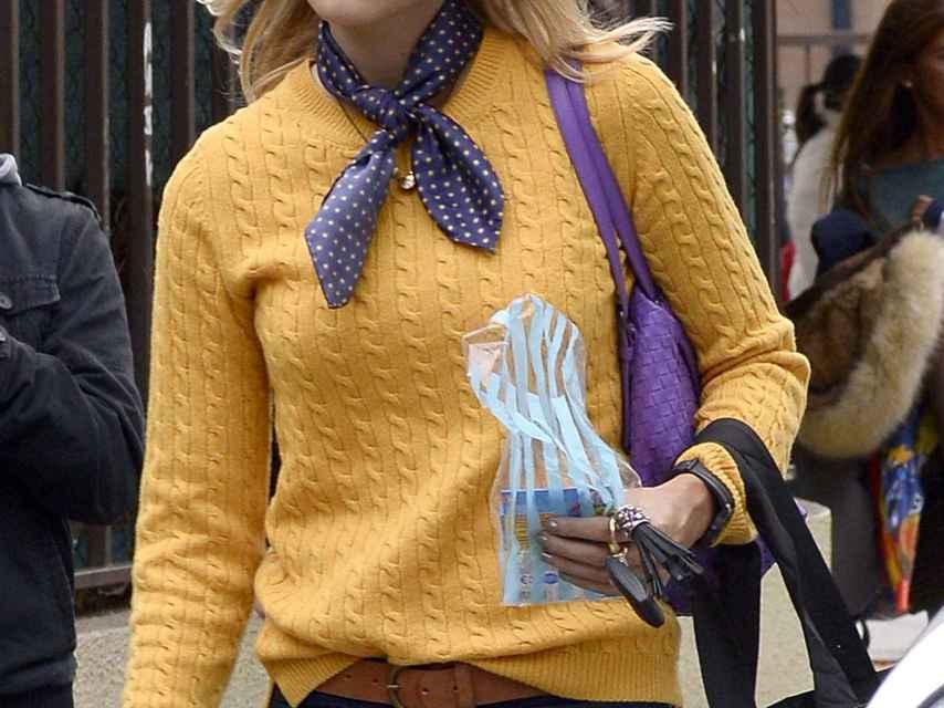 Alba Carrillo pasea esta semana por Madrid.