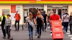 Un supermercado de la cadena Dia.