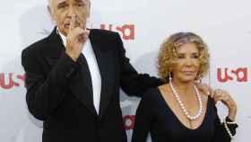 Sean Connery y su mujer Micheline