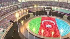 Ceremonia de apertura de Bakú 2015.