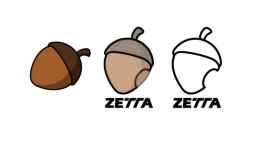 A la izquierda, el diseño en el que se 'inspiraron' los dueños de Zetta para crear su logo.
