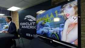 Rueda de prensa de presentación del GP de Estados Unidos.