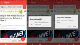 Cómo guardar una página en PDF desde el móvil