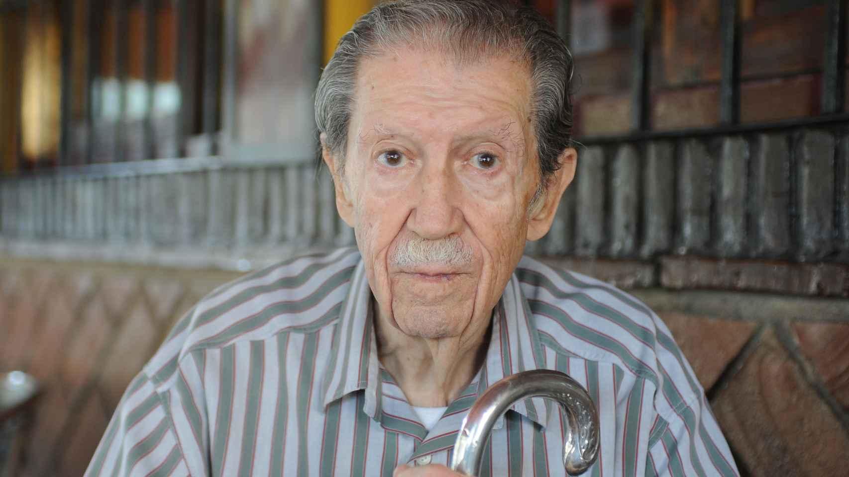 Manuel Alcántara, en una imagen de una entrevista con EL ESPAÑOL.