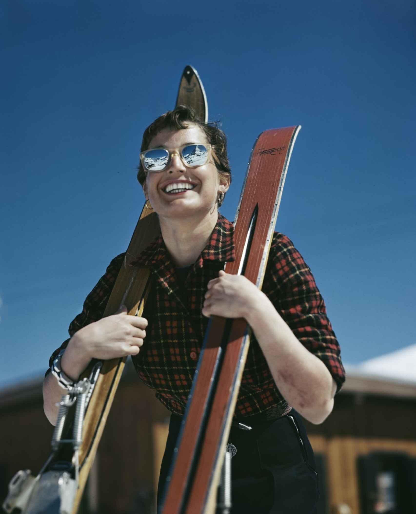 Judith Stanton, en Zermatt, Suiza.