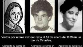 Las tres víctimas de Macastre.