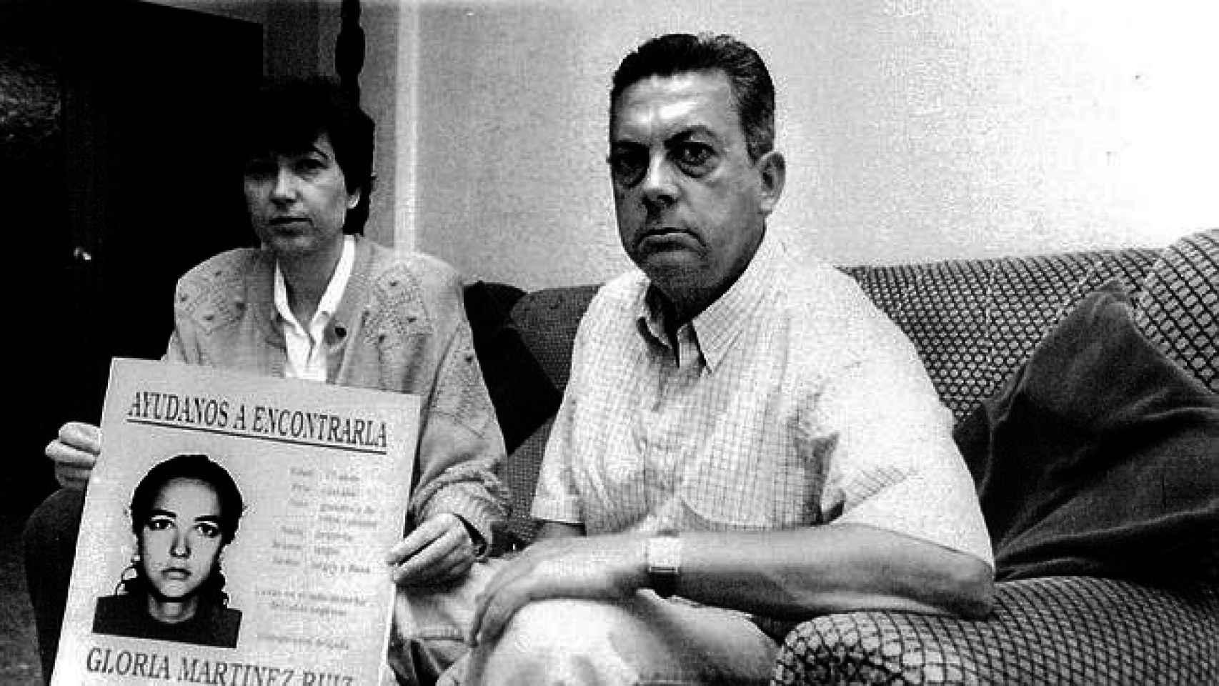 Los padres de Gloria Martínez.