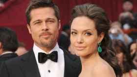 Los actores Angelina Jolie y Brad Pitt