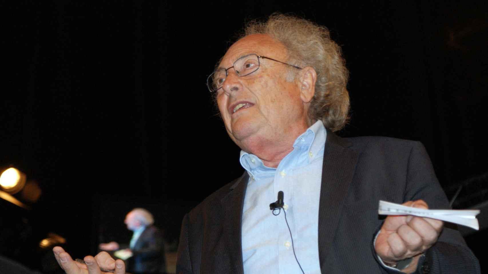 Punset, en un congreso en 2011.