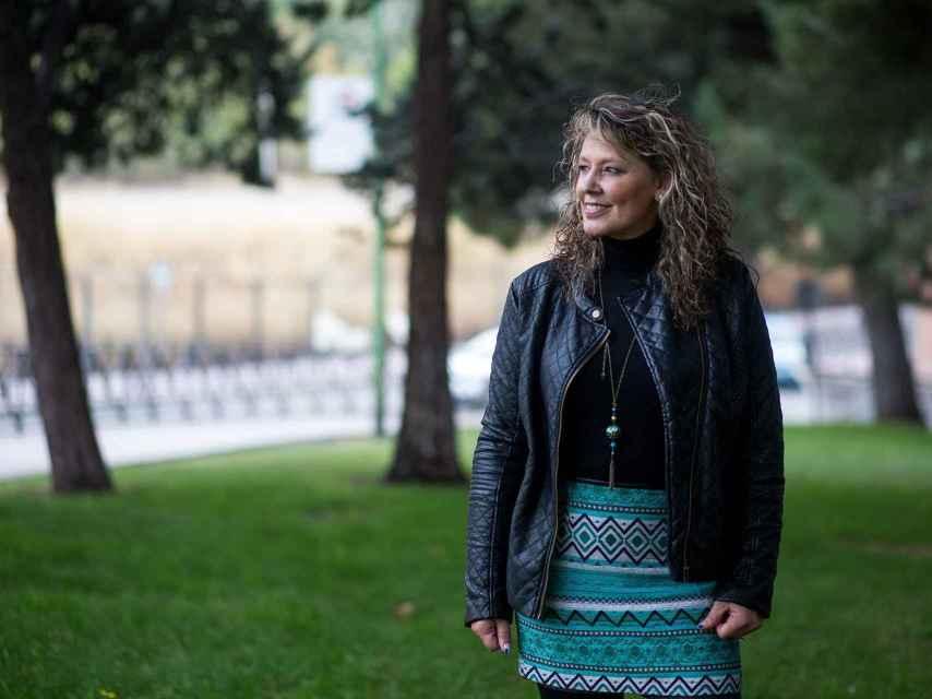 Marisol, durante la entrevista