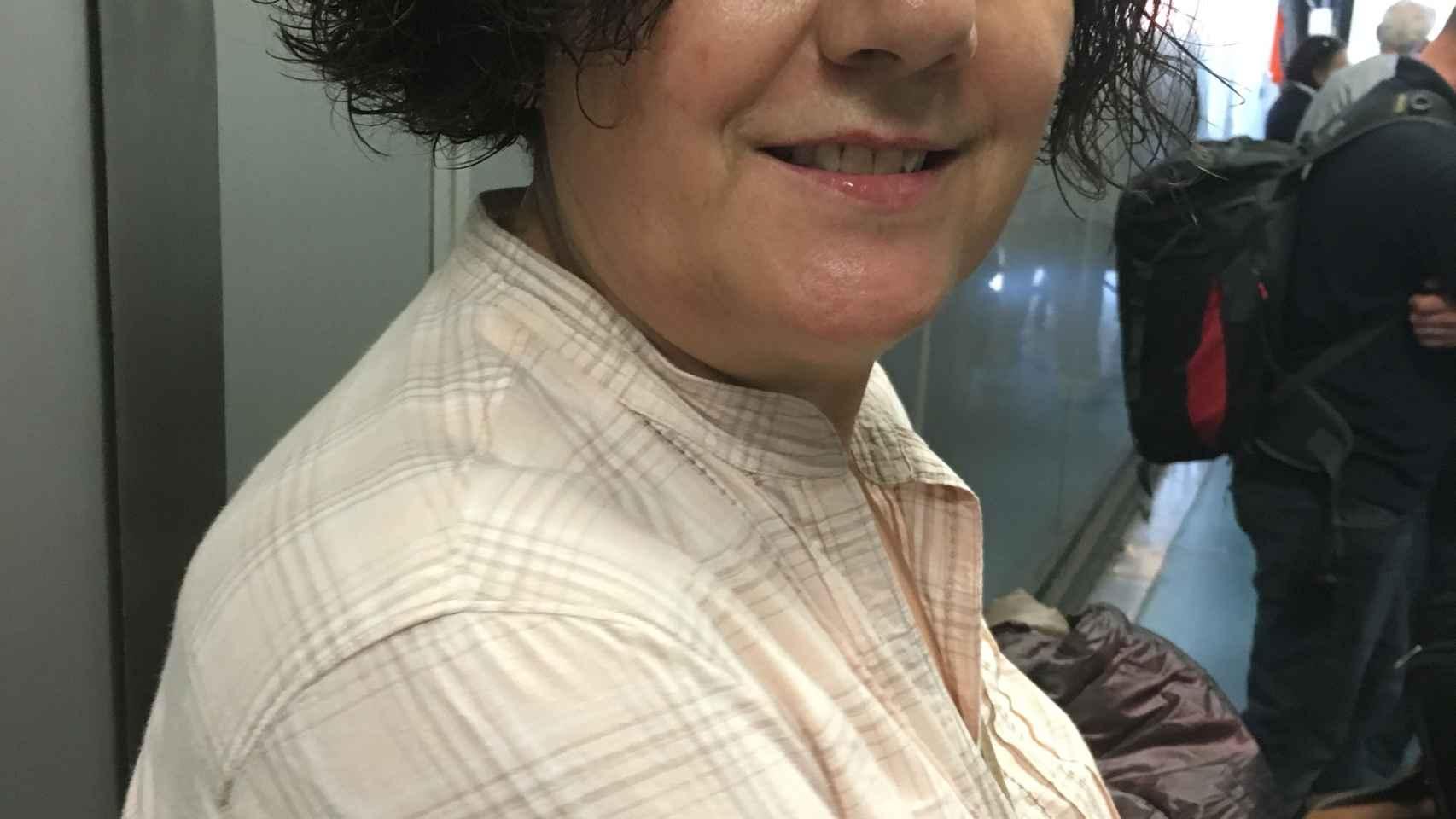 Joaquina Avellaneda, paciente de cáncer de mama metastásico.