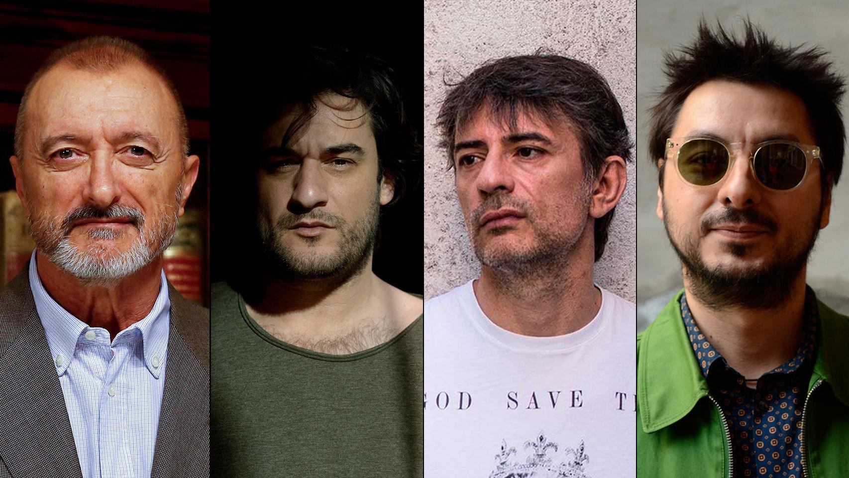 Arturo Pérez-Reverte, Manuel Jabois , Juan Tallón y Antonio Lucas, exponentes de la prosa cipotuda.