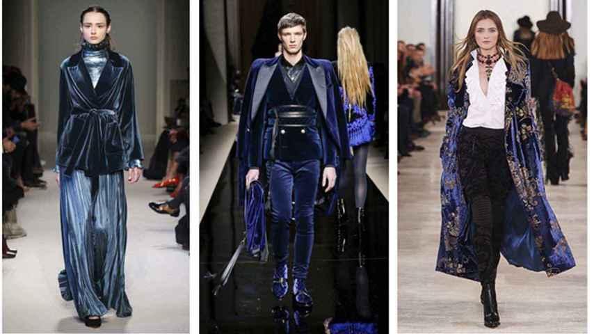 Modelos de Luisa Beccaria, Balmain y Ralph Lauren.