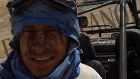 Pierre Dadak en uno de sus viajes.
