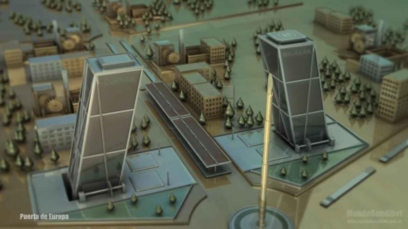 Los monumentos de Madrid convertidos en escenario de 'Juego de Tronos'.