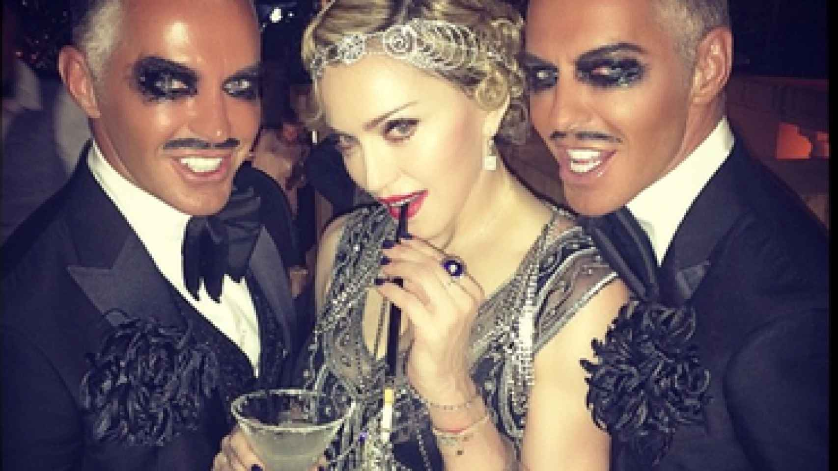 Los gemelos Caten son muy amigos de Madonna