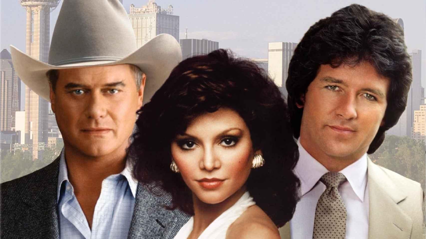 Los protagonistas de Dallas.