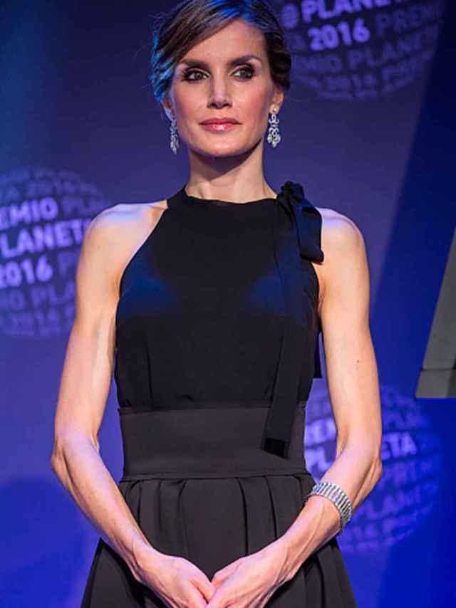 La reina Letizia, durante la entrega del premio Planeta, la pasada semana.