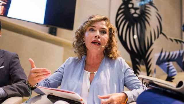 La diputada de Ciudadanos experta en Eduación, Marta Martín, durante el debate