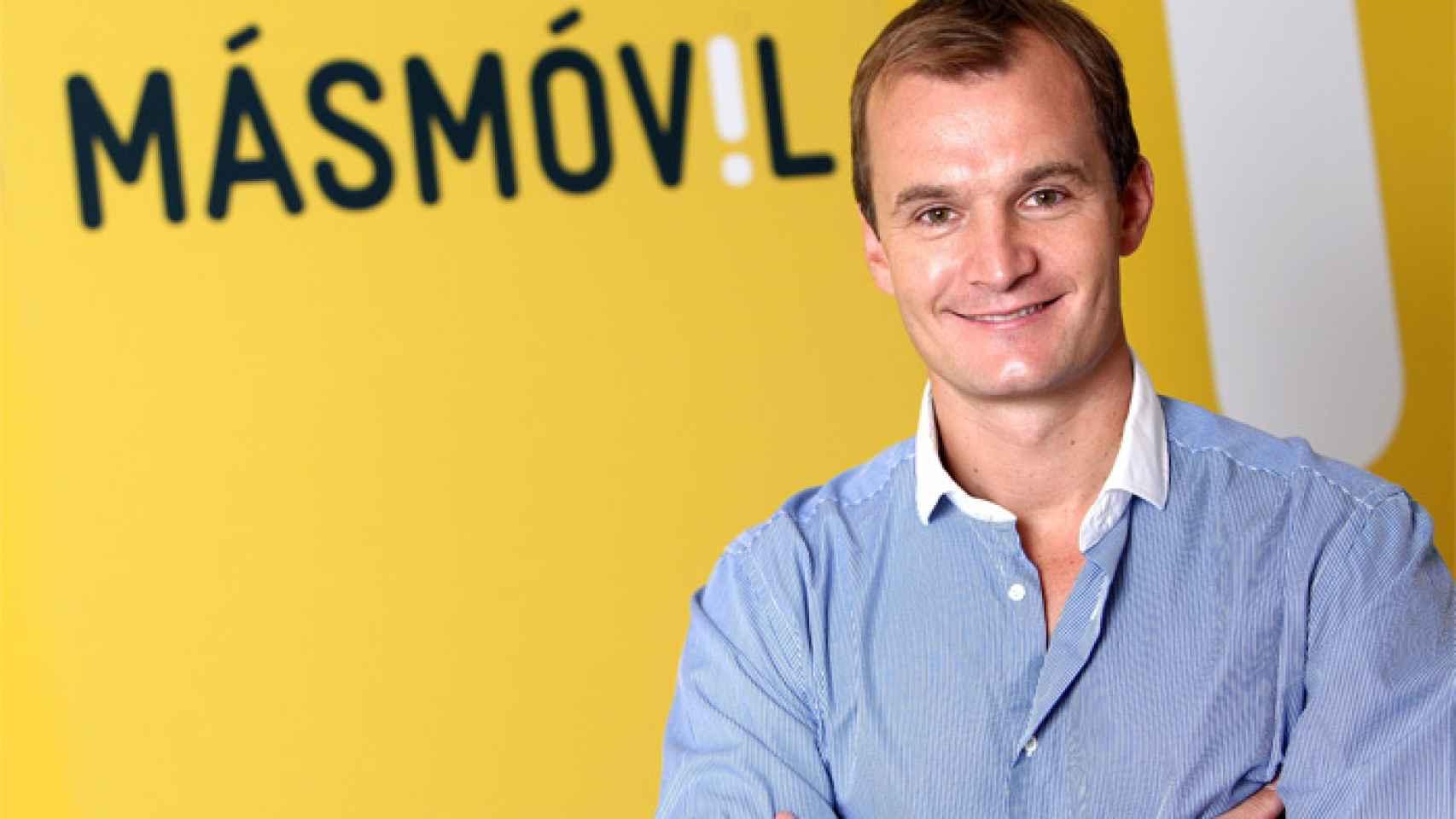 El CEO de Masmovil, Meinrad Spenger.