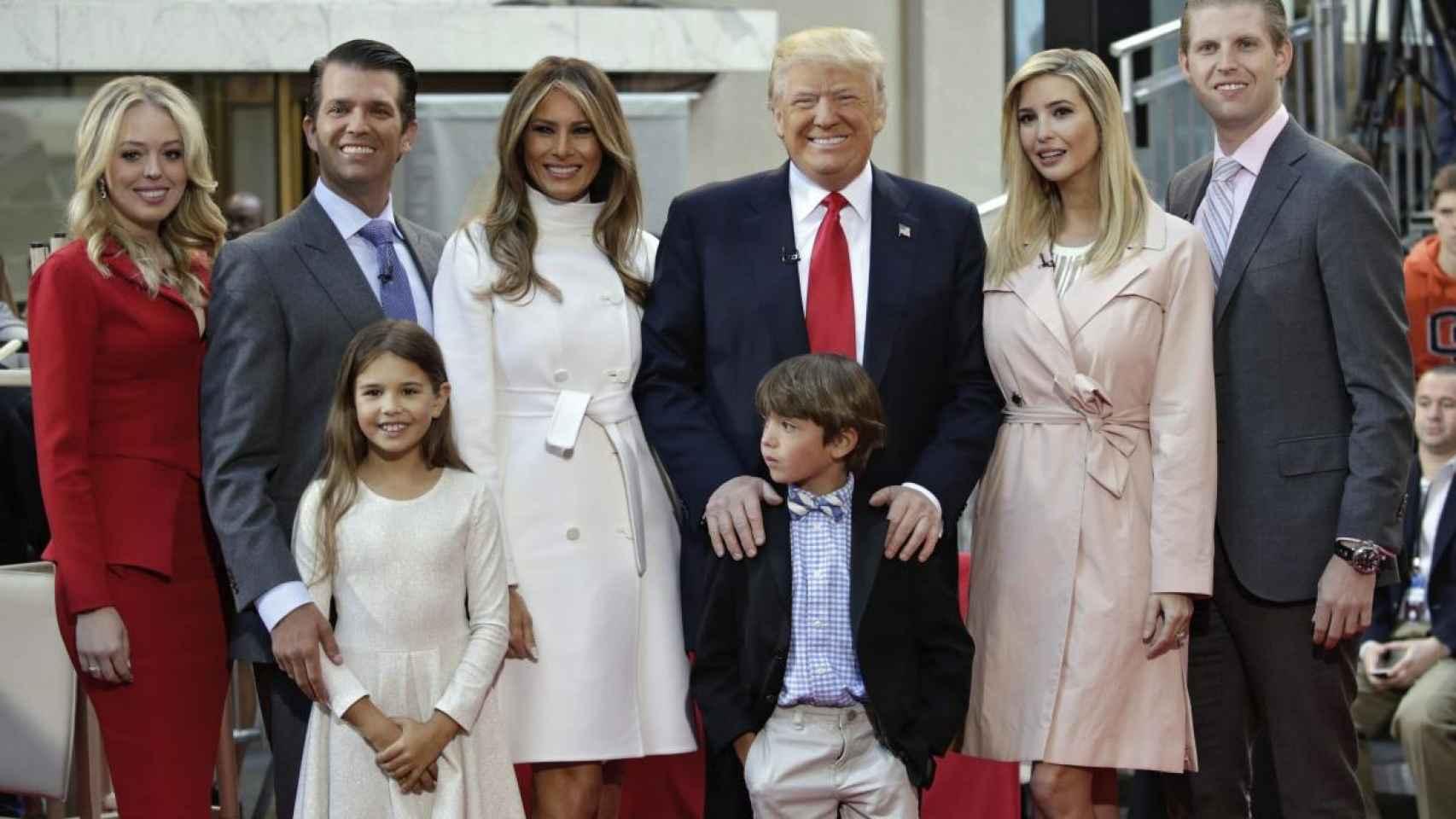 Donald Trump es el más querido para sus nietos.