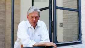 El periodista político William Finnegan en el Festival de Literatura 2016, en Roma.