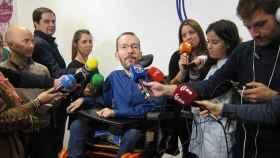 """Echenique critica la """"decisión vergonzosa"""" del PSOE sobre la abstención"""