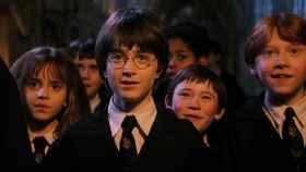 Fotograma de la primera película de Harry Potter.