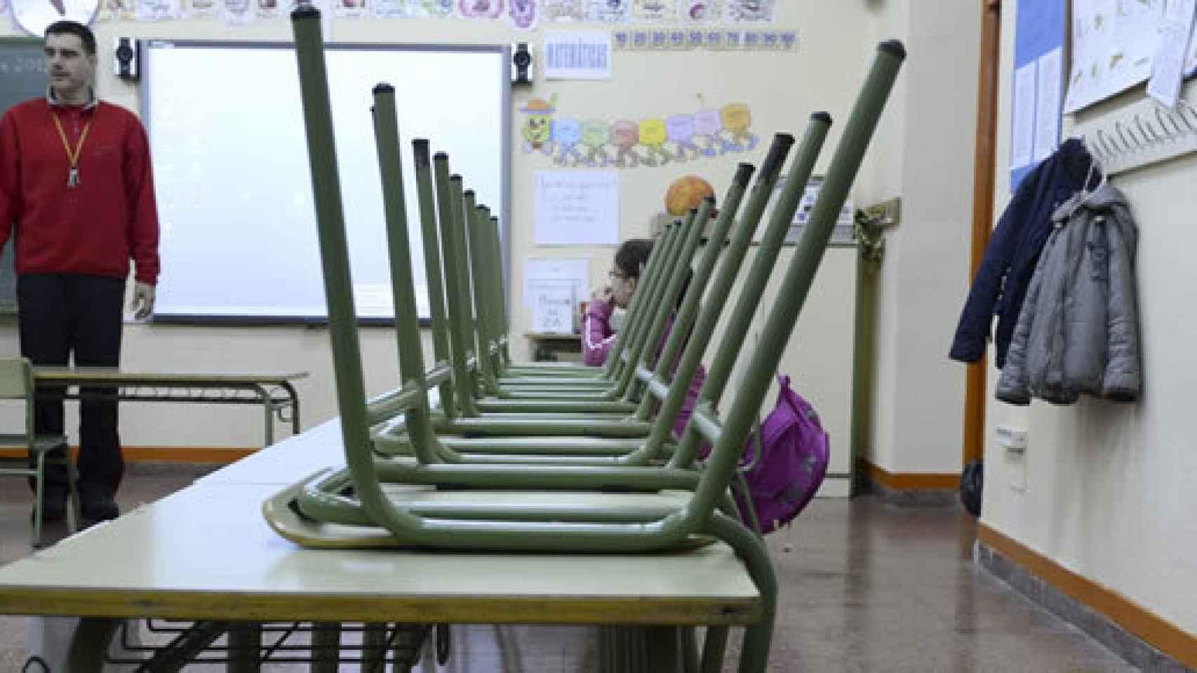 La huelga llama a vacias las clases desde Infantil hasta la Universidad
