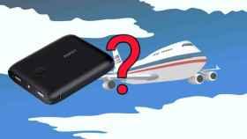 ¿Me pueden prohibir una batería externa en el avión?