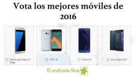 Los mejores móviles del 2016 vas a elegirlos tú