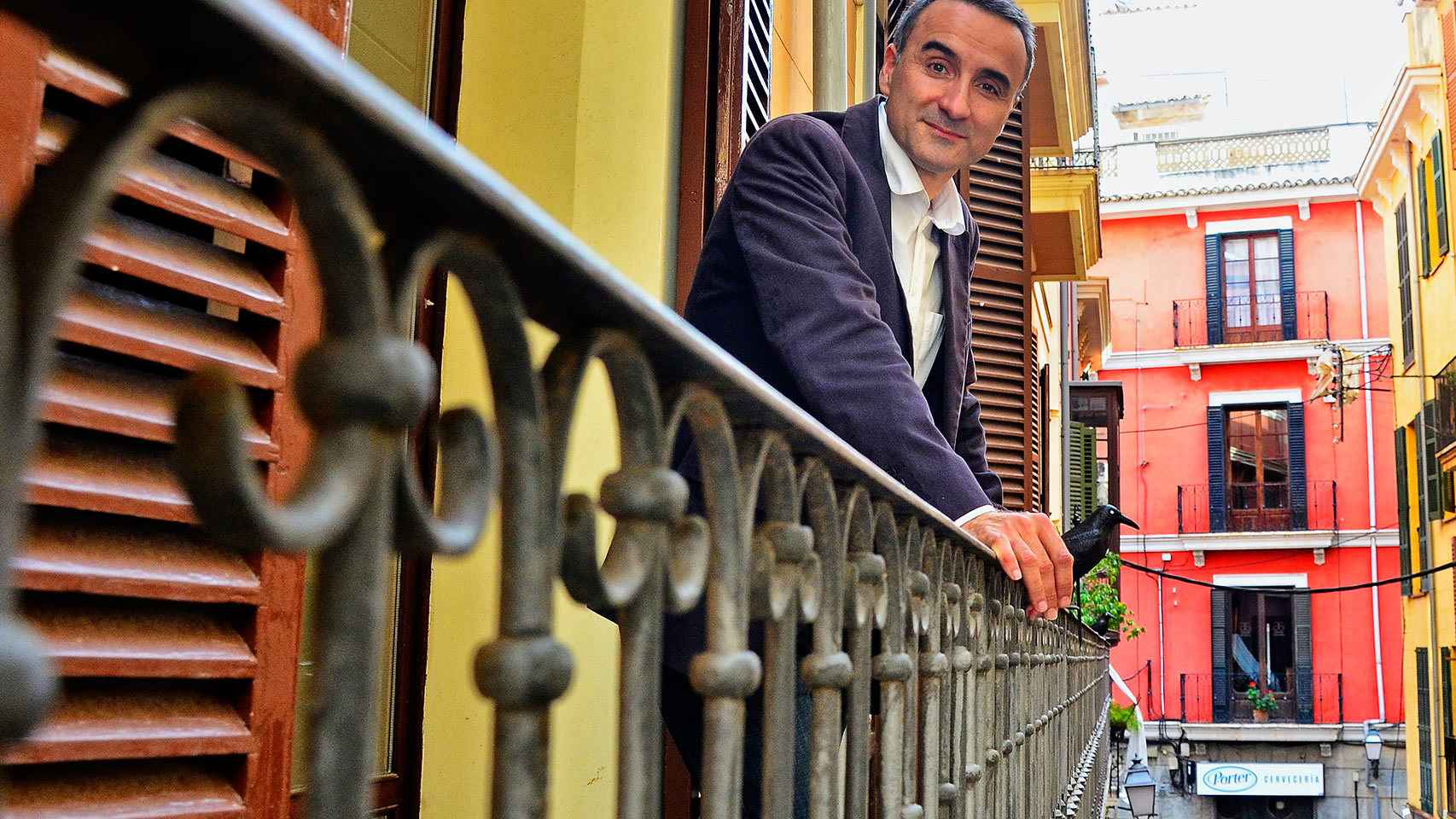 El diputado balear Pere Joan Pons, en Palma esta semana.