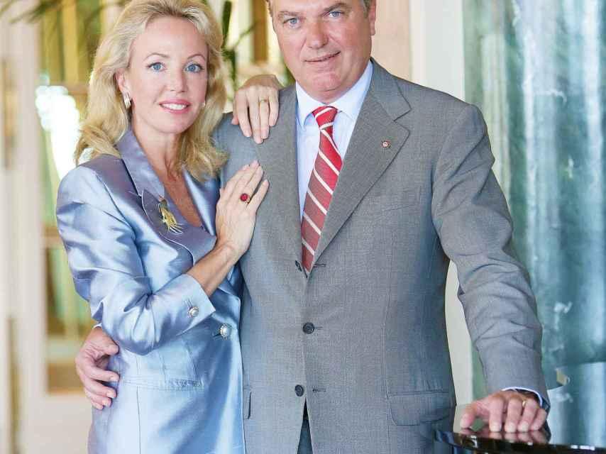 Los aristócratas, el pasado mes de mayo, en el hotel Excelsior de Napoli.