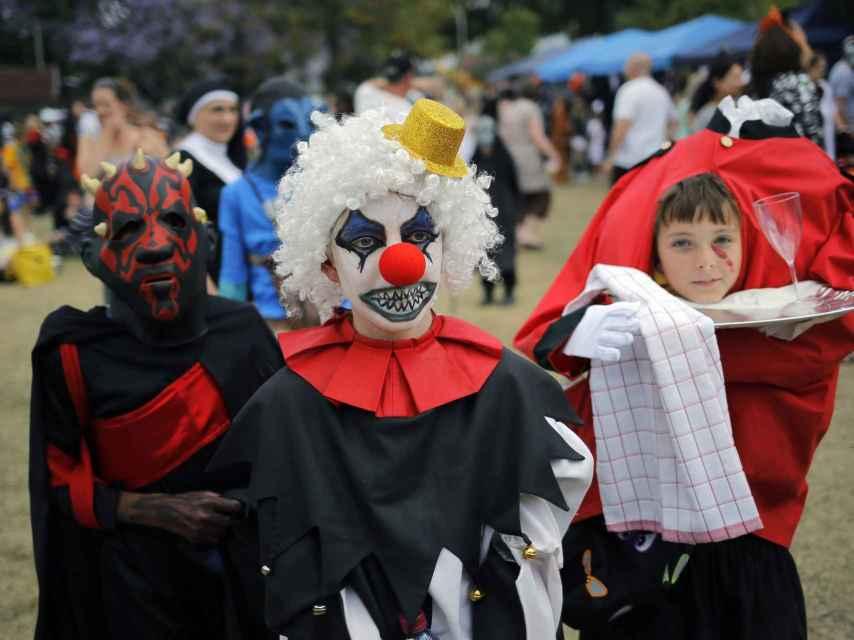 Disfraces típicos de Halloween.