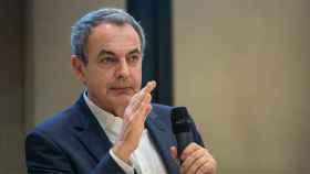 Zapatero, durante la conversación con EL ESPAÑOL.