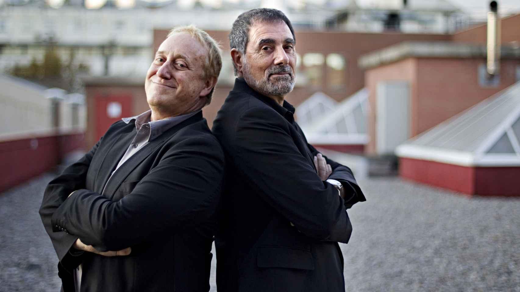 Josep María Mainat y Toni Cruz.