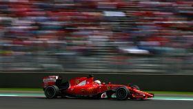 Sebastian Vettel, en el Gran Premio de México de 2015.