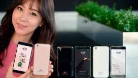 Nuevo LG U el móvil que retrocede al pasado para vestirse de iPhone 3G