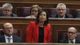 Margarita Robles, una de las diputadas que ha votado no.