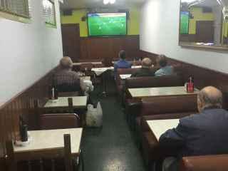 La cafetería Montesa en Madrid.