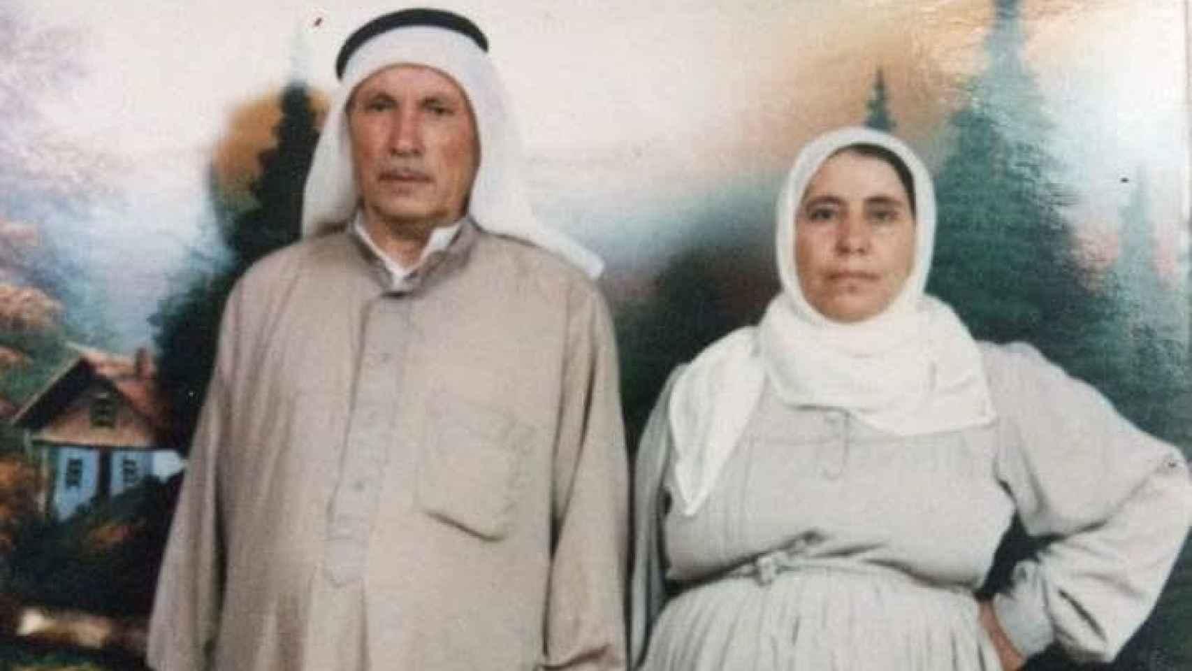 Los padres de Nujeen, ahora refugiados en Turquía, en una imagen de archivo.