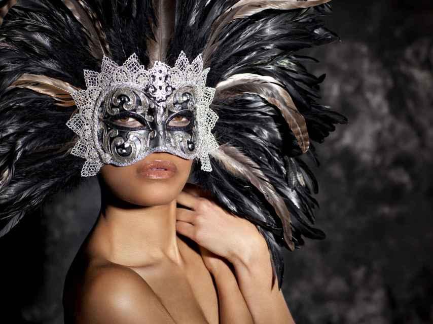 La máscara es la principal seña identitaria de estas fiestas.